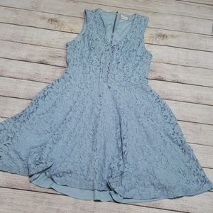 3️⃣/$🔟❗Alter'd State blue lace dress